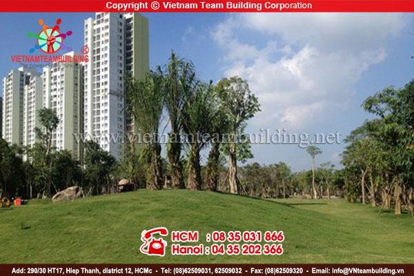 Eco park địa điểm tổ chức team building tại Hà Nội