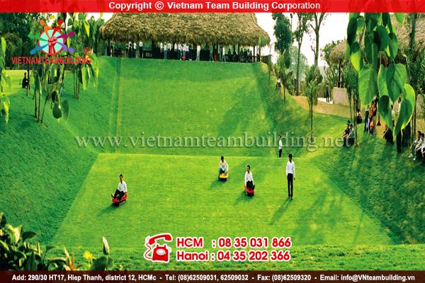 Resort Asean địa điểm tổ chức team building tại Hà Nội